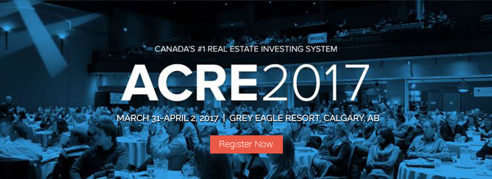 Register For ACRE Calgary